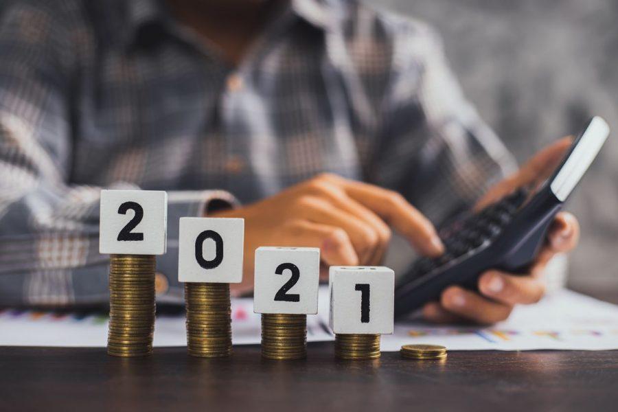 dinheiro em cima de 2021