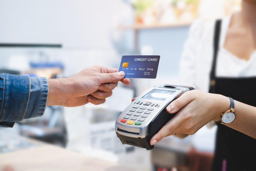 pagando contas com o cartão
