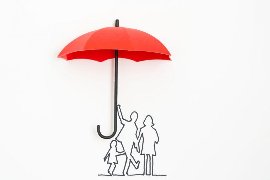 vetor de família segura