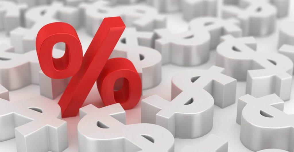 vetor de taxa de juros
