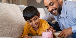 5 dicas para implementar a educação financeira na vida de uma criança